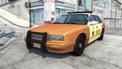 Gavril Grand Marshall sheriff v1.5 para BeamNG Drive