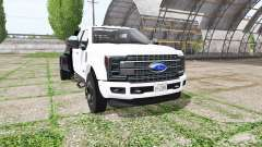 Ford F-450 Super Duty flatbed