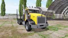 Kenworth T800B logging truck