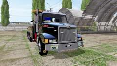 Western Star 4900 rotator heavy wrecker para Farming Simulator 2017