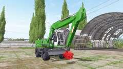 Liebherr A 900 Compact Litronic para Farming Simulator 2017