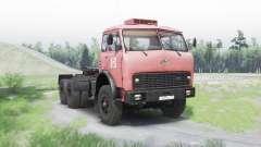 MAZ 515Б v1.25 para Spin Tires