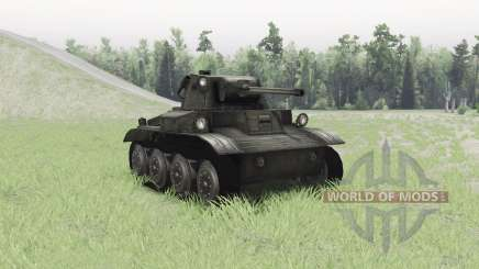 Light Tank Mk.VII Tetrarch para Spin Tires