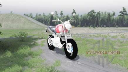 BMW R1100R para Spin Tires