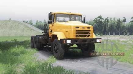 Kraz 64431 para Spin Tires