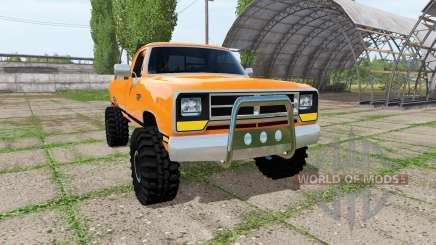 Dodge Power Ram para Farming Simulator 2017