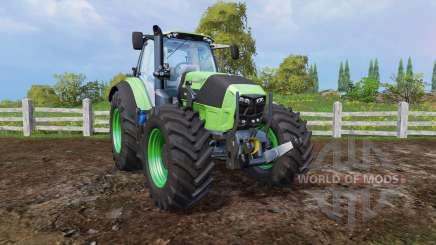 Deutz-Fahr Agrotron 7250 front loader para Farming Simulator 2015