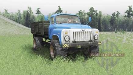 GAZ 53 4x4 v2.0 para Spin Tires