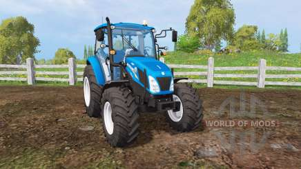 New Holland T4.115 matte color para Farming Simulator 2015
