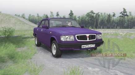 GAS 3110 Volga para Spin Tires