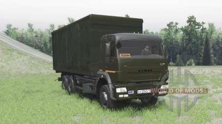 KamAZ 65117 para Spin Tires