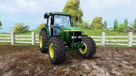 John Deere 6810 front loader para Farming Simulator 2015