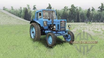MTZ 80 Bielorrusia para Spin Tires