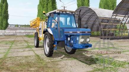 Ford 7810 sprayer v1.1 para Farming Simulator 2017