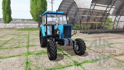 MTZ 82 Belarús casero para Farming Simulator 2017