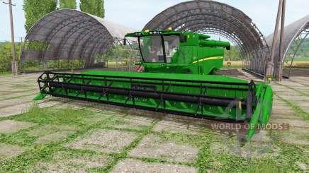 John Deere S670 RowTrac para Farming Simulator 2017