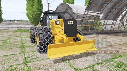 Caterpillar 555D v2.0 para Farming Simulator 2017