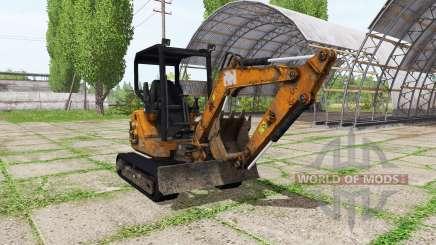Mini excavadora para Farming Simulator 2017