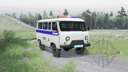El uaz 3909 ppa v1.1 para Spin Tires