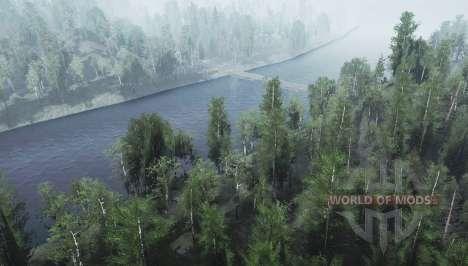 Dos ríos para Spintires MudRunner