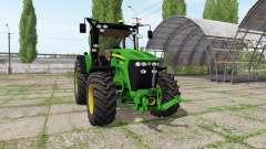 John Deere 7730 v1.4 para Farming Simulator 2017