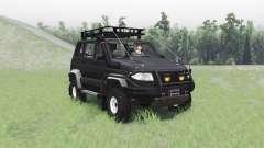 UAZ 3163 Patriota v1.1 para Spin Tires