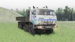 KamAZ 63501 Mustang v1.2 para Spin Tires