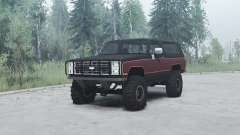 Chevrolet K5 Blazer 1985 para MudRunner