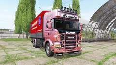 Scania R730 tandem para Farming Simulator 2017