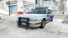 Gavril Grand Marshall kentucky state police v4.0 para BeamNG Drive