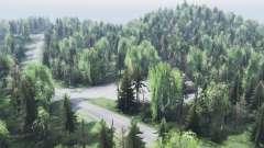 la montaña de Altai para Spin Tires