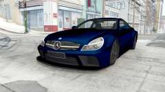 Mercedes-Benz SL 65 AMG Black Series (R230) 2008 para BeamNG Drive