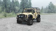 Land Rover Defender 90 off-road para MudRunner