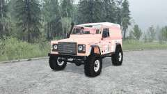 Land Rover Defender 90 Hard Top para MudRunner