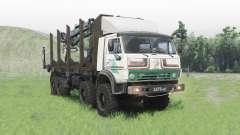 KamAZ 63501 Mustang para Spin Tires