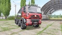 Tatra Phoenix T158 8x8-6 hooklift camo