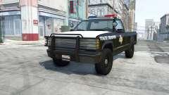 Gavril D-Series texas highway patrol para BeamNG Drive