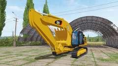 Caterpillar 329E v1.1 para Farming Simulator 2017