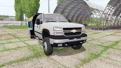 Chevrolet Silverado 2500 HD Crew Cab dump v2.0 para Farming Simulator 2017
