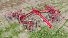 Lely Hibiscus 1515 CD Profi para Farming Simulator 2017