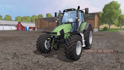 Deutz-Fahr Agrotron 120 Mk3 front loader para Farming Simulator 2015