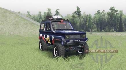 Toyota Land Cruiser 70 v1.1 para Spin Tires
