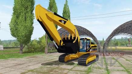 Caterpillar 345B LME v1.1 para Farming Simulator 2017
