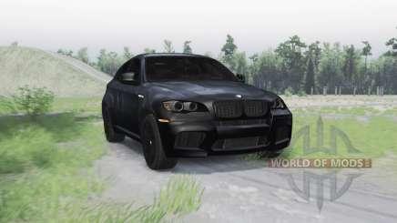 BMW X6 M para Spin Tires