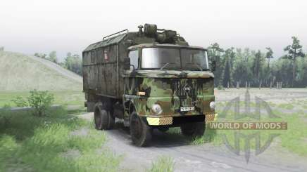 IFA W50 L army para Spin Tires