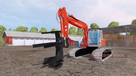 Hitachi ZX110 feller buncher para Farming Simulator 2015