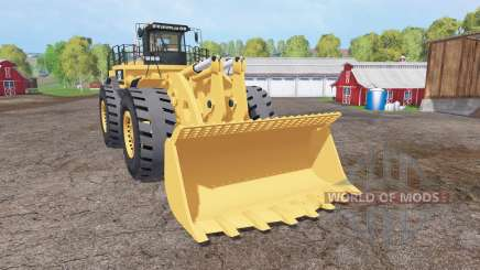 Caterpillar 994F v3.0 para Farming Simulator 2015