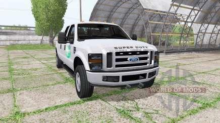 Ford F-350 Super Duty Crew Cab para Farming Simulator 2017