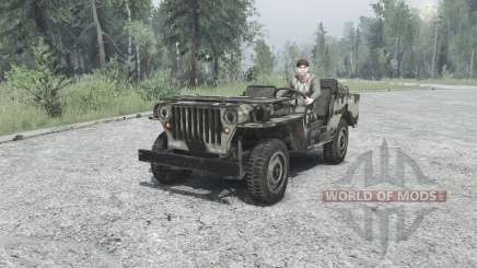 Willys MB 1942 para MudRunner