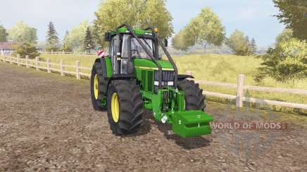 John Deere 7810 forest para Farming Simulator 2013